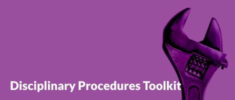 Disciplinary Procedures Toolkit